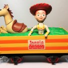 Disney Toy Story Jessie CowGirl Bullseye G Scale Train Car Woody's Roundup