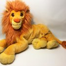 "Disney Mattel Lion King Simba Plush Cat JUMBO Stuffed Animal Toy Doll 24"" Adult"