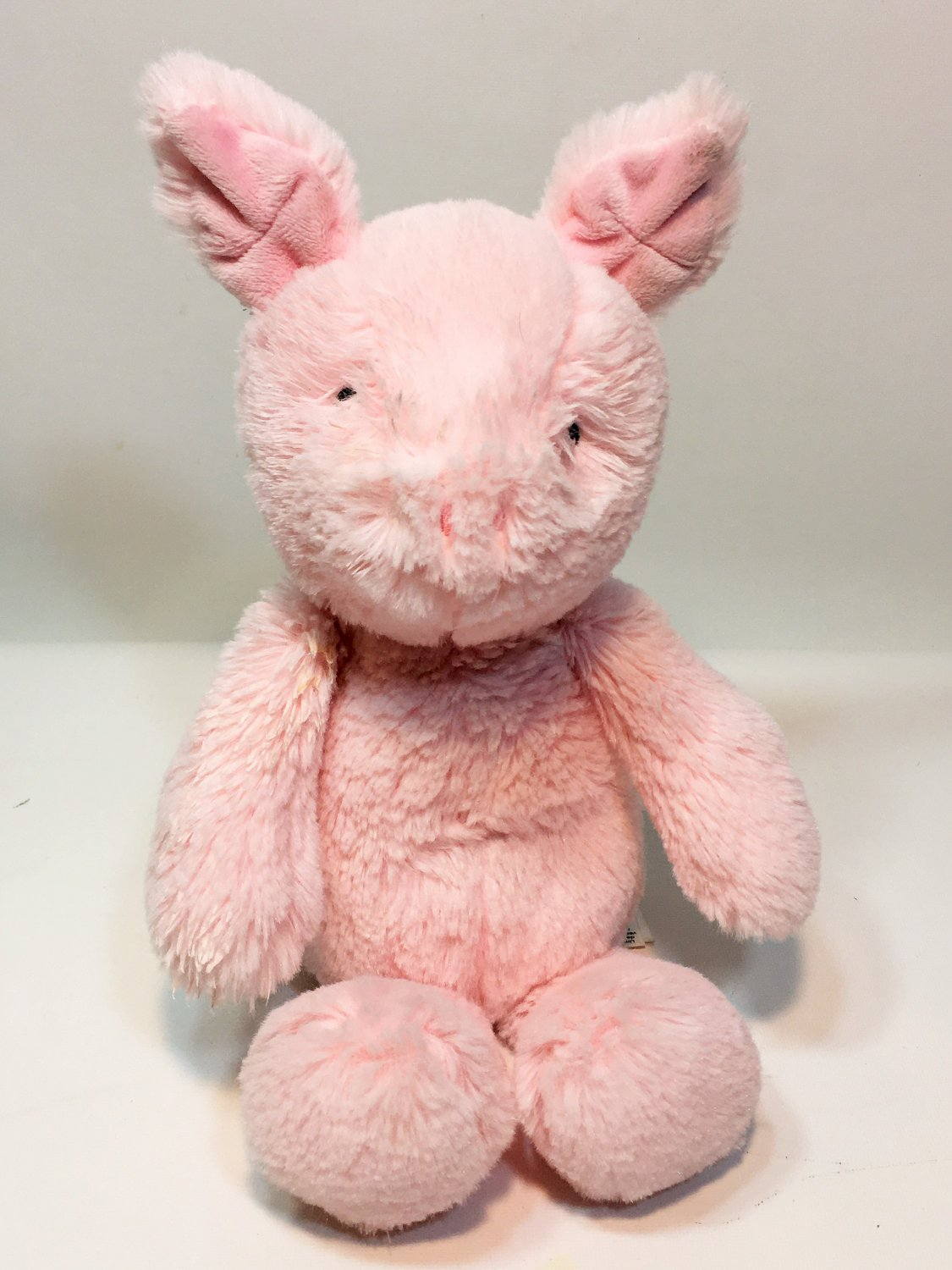 Carter's PIG Pink Plush Piggy Baby Stuffed Animal Toy Hog Curly Tail 66922