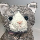 RARE Gund Bootsie JUMBO Plush Kitty Cat LARGE Stuffed Animal Tabby Cat Grey 24""