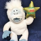 Stuffins CVS Abominable Snowman Happy New Year 2000 Plush Doll Rudolph 8""