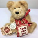 "Boyds Bear Merci Bearcoo Thank you Beary Much #903001 Plush Brown Jointed 8"" NWT"