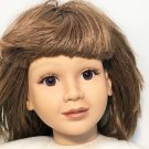 My Twinn Doll Brunette Brown Hair Bobbed Eyes 1996 Twin Doll Girl Toy 23""
