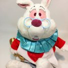 Disney White Rabbit Plush Alice in Wonderland Bunny Stuffed Animal 15""