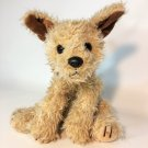 Ty Toffee Terrier Puppy Dog Plush Brown Shaggy Bean 1997 Stuffed Animal Mutt 10""