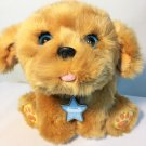 """Little Live Pets Snuggles My Dream Puppy Interactive Brown Dog Toy Barking 10"""""""