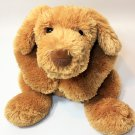Ty Classic Laces Puppy Dog 2004 Golden Brown Floppy Tan Beanbag Stuffed Animal