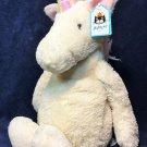 Jellycat Large Bashful Unicorn 15'' Plush Stuffed Animal Toy Pink Mane NEW TAG