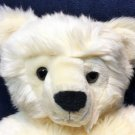 Ty Vanilla Bear Classic Plush Cream Korea 1995 Stuffed Animal Toy 17""