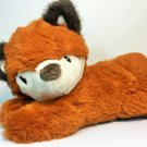 Little Miracles Plush Brown FOX Stuffed Animal Laying Down Sewn Eyes Costco 10""