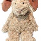 Jellycat Junglie Bunglie Bunny Plush Scruffy Tan Brown Velvety Velour Suede Ears
