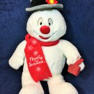"Build A Bear Frosty The Snowman Lighted Musical Christmas Plush Stuffed 18"" Toy"