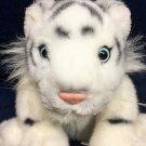 "Ganz White Siberian Tiger Cub Plush 8"" Baby Bengal Cat Heritage Collection"