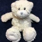 "First Impressions White Teddy Bear Plush Stuffed Animal Baby Toy Macy's 12"""
