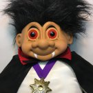 "Russ Troll Doll Count Dracula RARE Vampire Halloween JUMBO 27"" X-LARGE Toy"