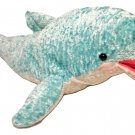 Great American Toy Company Dolphin Porpoise Plush Stuffed Animal Toy Blue 26""