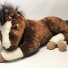 Carstens Exclusive Bay Horse Plush Pony Retired Leisure Time Stuffed Animals 18""