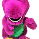"Barney Plush RARE I Love You Green Heart Purple Dinosaur Lyons Golden Bear 10"""