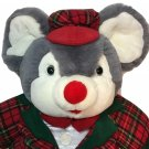 "RARE Dan Dee Plush JUMBO Mouse BIG 36"" Collector's Choice Gray Stuffed Animal"