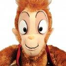 "Vintage Disney Abu Monkey Stuffed Plush Aladdin Movie 17"" Rare"