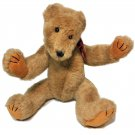 """Boyds Collection Bubba Bear Double Swivel Head Tan Plush Fully Jointed Teddy 16"""""""