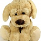 JUMBO Kellytoy Puppy Dog Golden Brown Retriever Plush Stuffed Animal HUGE 22""