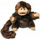 "Folkmanis Folktails Small Monkey Full Body Plush Brown Hand Puppet 10"""