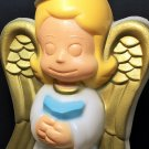 General Foam Angel Halo Girl RARE Christmas Figure Plastic Blow Mold LARGE 18""