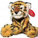 "Fiesta Jungle Cubs Tiger Plush Stuffed Animal BeanBag String Whiskers 9"" NEW TAG"