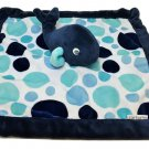 Carters Security Blanket Whale Blue Dots Navy Boy Carter's Lovey Nautical