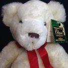 """Kellytoy Classic Impressions Plush White Cuddle Bear 19"""" Stuffed Animal Teddy"""