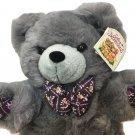 "Dan Dee Teddy Bear RARE Soft Expressions Plush Floral Stuffed Animal NWT 15"""