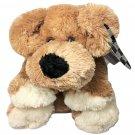 "Animal Adventure Puppy Dog Retriever Laying Plush Brown Stuffed animal 15"""