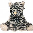 Mary Meyer Flip Flops Tiger Stripes Cat Stuffed Animal Plush Kitten Bean Bag Bow