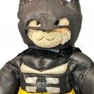 Build A Bear Batman Costume DC Comics The Dark Knight Superhero Bear w/Gloves