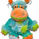 Manhattan Toy RARE Galoompagalots Monster Plush Stuffed Animal Blue Orange RARE