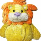Animal Alley Lion Plush JUMBO Pillow Soft Cuddle Orange Mane Huge Floppy 28""