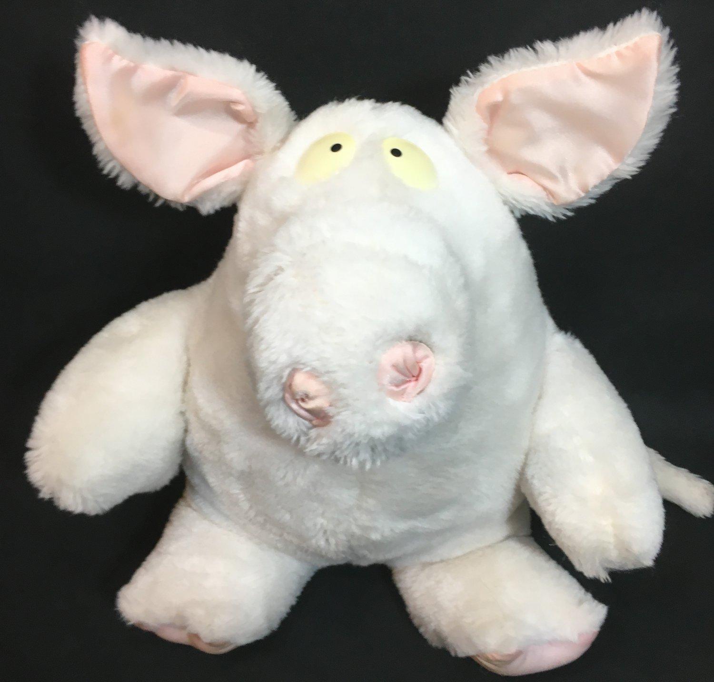 Albert Einswein Pig Plush RARE Sandra Boynton Vintage 1985 Stuffed Animal Toy