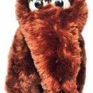 "Applause Sesame Street Snuffleupagus RARE Swivel-Head Wooly Mammoth Plush 10.5"""