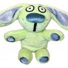 "Yottoy Knuffle Bunny Rabbit Mo Willems Plush Stuffed Animal Green Bean Bag 8"""