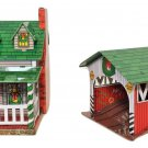Hallmark Ornament Grandmother's House & Covered Bridge Town and Country Keepsake