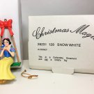 Disney Grolier SnowWhite Christmas Magic Ornament Snow White Swing #128 w Box
