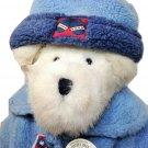 "Boyds Bears Ludwigg V. Burrbruin Plush Teddy Bear White Stuffed Animal TAGS 15"""