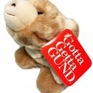 "Gund Snuff Plush Baby Snuffles 2147 Brown Tan Stuffed Animal Polar Bear NWT 7"""