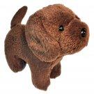 "American Girl Doll Pet Chocolate Chip Brown Labrador Puppy Dog Lab 7"""