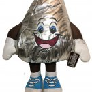 "JUMBO Hershey Kiss Kisses HUGE Plush Silver Stuffed Guy Doll Toy BIG 30"" Tall"
