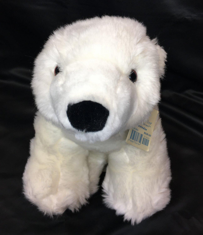 Marshmallow Polar Bear 2007 Borders Exclusive Plush Princess Soft Stuffed Toy