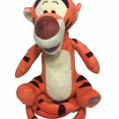 Disney Talking Bouncing Tigger Toy Jumping Head Twisting Orange Plush Pooh Tiger