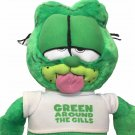 HTF Garfield Cat Plush Green around the Gills Nanco Expressions Doll Toy 20""