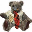 "RARE HTF Grandpa Vernon Bear Honey Cup Bears Barbara Originals Silver Teddy 14"""